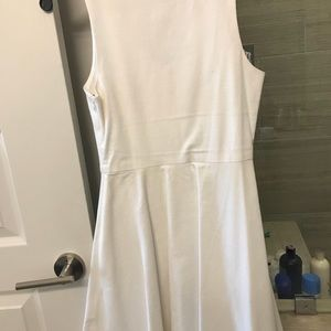 Joie White linen dress